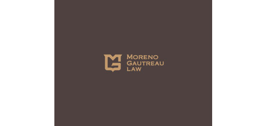 Moreno Gautreau Law  Logo Design Inspiration