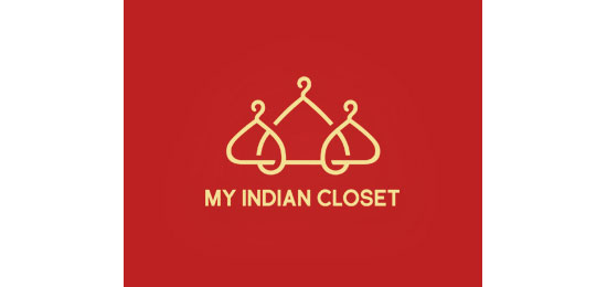 My Indian Closet Logo Design Inspiration