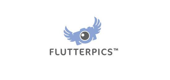 flutterpics Logo Design Inspiration