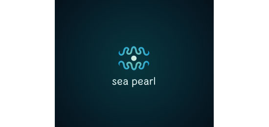 sea pearl Logo Design Inspiration