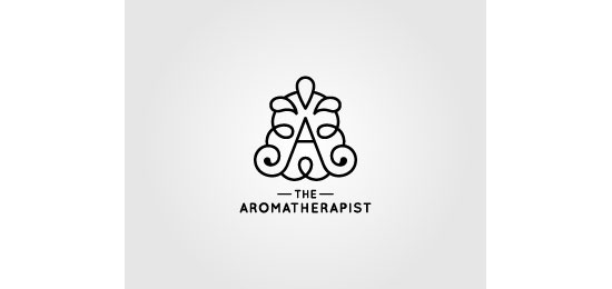 the Aromatherapist Logo Design Inspiration