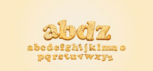 Yummy Cookies Typography in Photoshop Photoshop tutorial