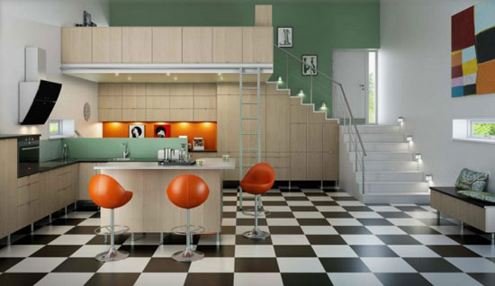 Kitchen Interior Design Idea 21