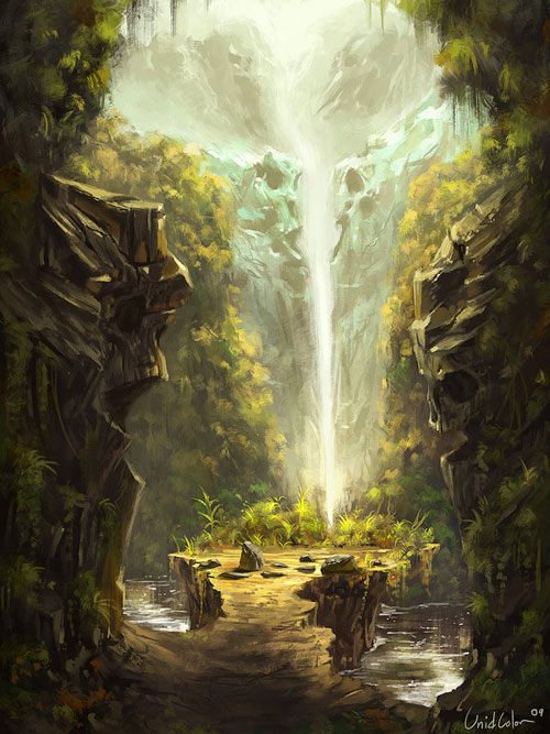 Collection Of 46 Excellent Landscape Digital Paintings