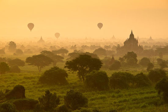 Bagan Balloons Beautiful Landscape Photography
