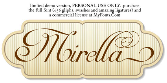 Mirella Script Download for free