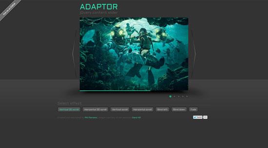 Adaptor: jQuery content slider