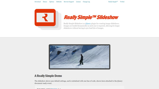 Really Simple™ Slideshow