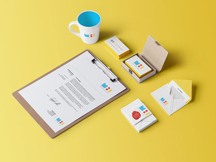 Letterhead Examples and Ideas: 60+ Cool Stationary Designs