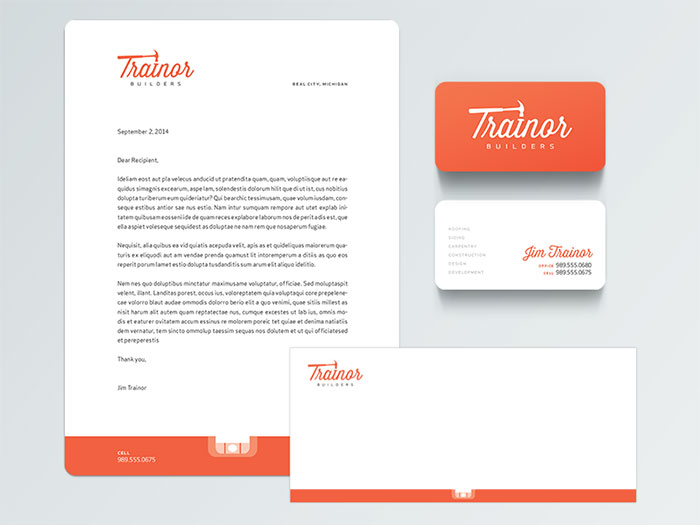 1777807 Letterhead Examples And Ideas: 60+ Cool Stationary Designs  Business Letterhead Samples