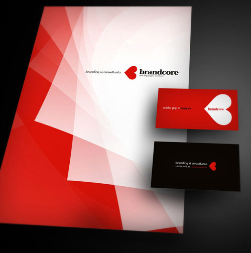 Brandcore corporate - Letterhead And Logo Design Inspiration