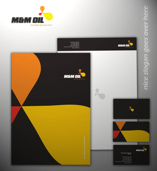 MM OIL CORPORATE - Letterhead And Logo Design Inspiration