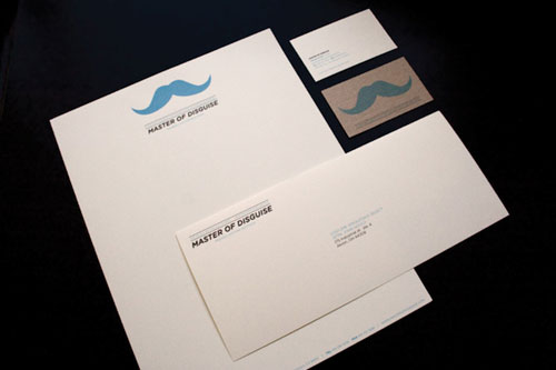 Master of Disguise - Letterhead And Logo Design Inspiration