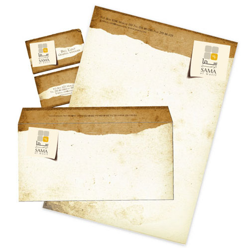 Letterhead Design Ideas fa danes identity collateral letterhead design Sama Letterhead And Logo Design Inspiration