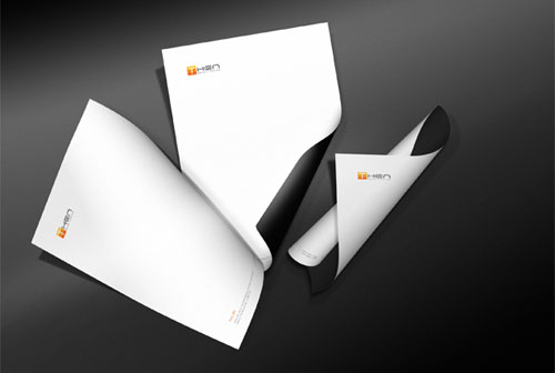 Then Corporate Brand Identity - Letterhead And Logo Design Inspiration
