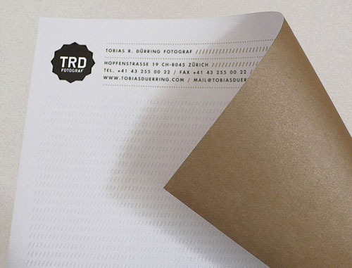 Tobias R. Duerring Identity - Letterhead And Logo Design Inspiration
