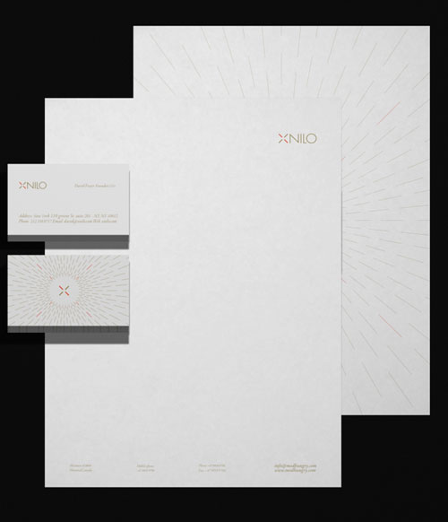 Xnilo Design Studio Visual Id - Letterhead And Logo Design Inspiration
