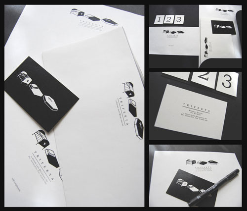 trifekta - Letterhead And Logo Design Inspiration