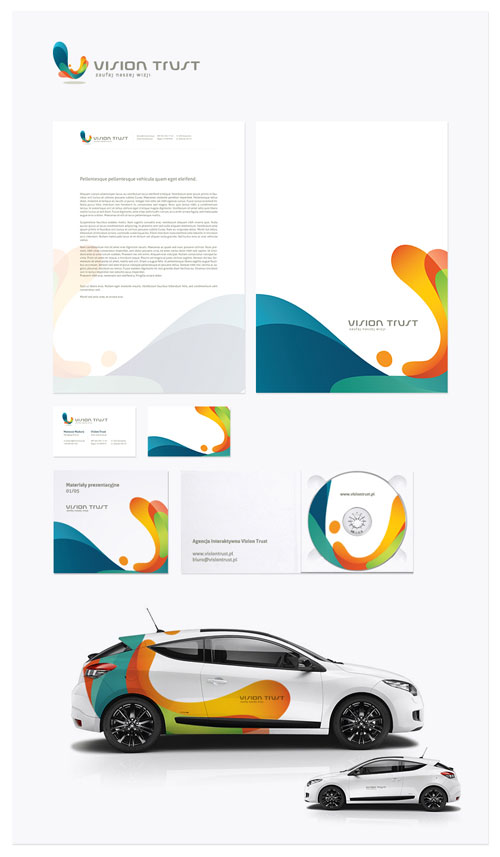 Vision Trust - Letterhead And Logo Design Inspiration
