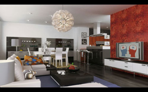 Incredible Living Room Interior Design Ideas 24