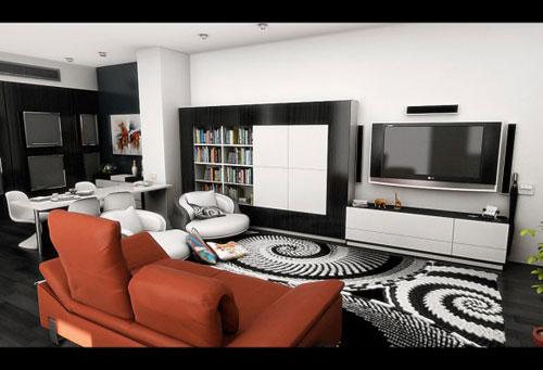 Incredible Living Room Interior Design Ideas 26