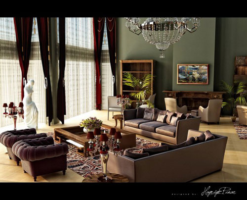 Incredible Living Room Interior Design Ideas 45