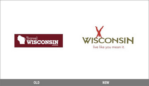 Travel Wisconsin Logo Change