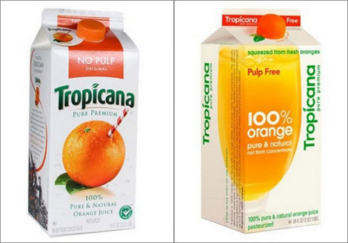 Tropicana Logo Change
