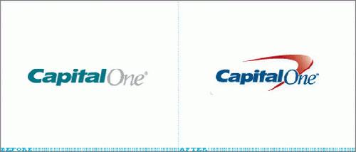 Capital One Logo Change