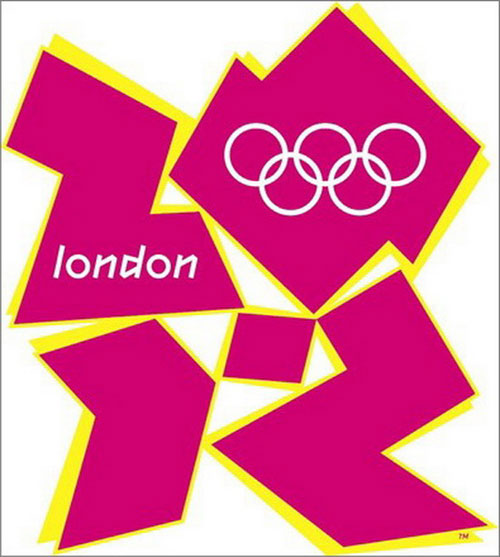 London Olympics Logo Change