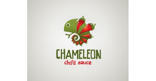 Chameleon chili sauce logo