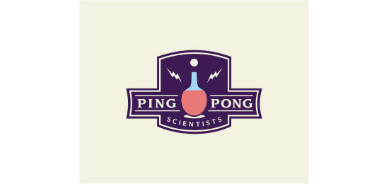 Ping Pong Scientists logo