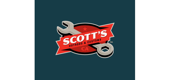 Scott's Hot Rods logo