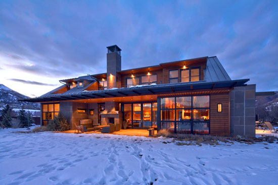 Luxurious architecture and mansion interior design 73 photos for Aspen style home designs