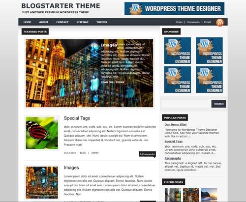 BlogStarter Theme