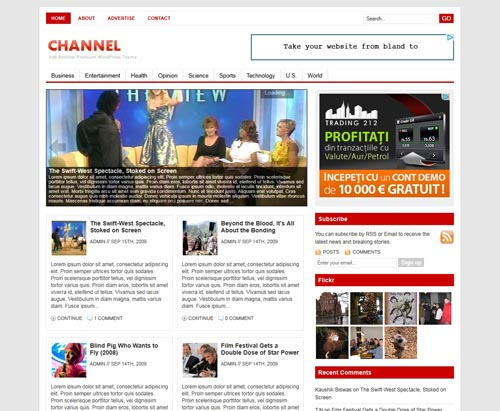 Channel WordPress Theme