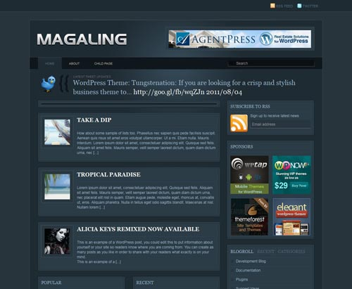 Magaling WordPress Theme