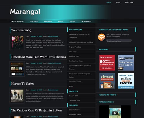 Marangal WordPress Theme