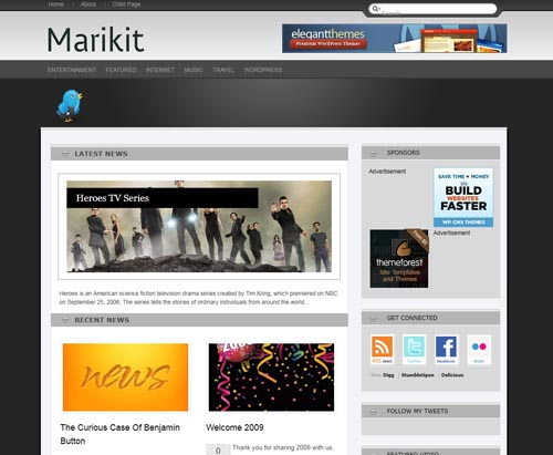 Marikit WordPress Theme
