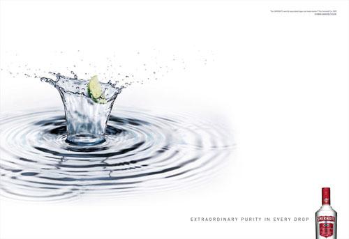 Smirnoff print advertising 2