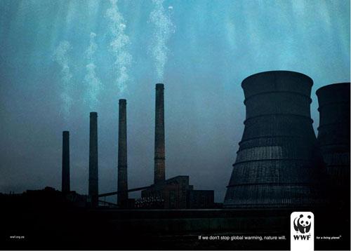 WWF print advertising