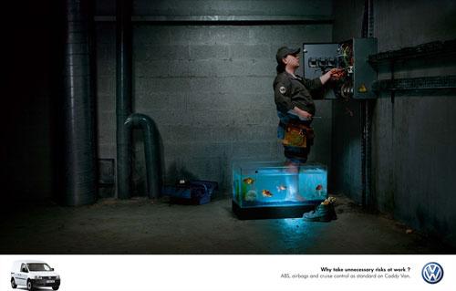 Volkswagen print advertising 1
