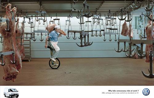 Volkswagen print advertising 2