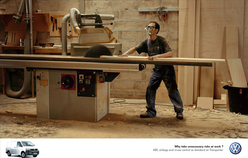 Volkswagen print advertising 3