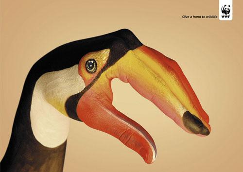 WWF print advertising 1