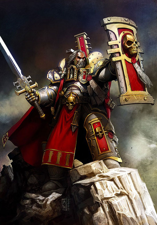 Crusader Inquisitor Drawing Illustration Inspiration
