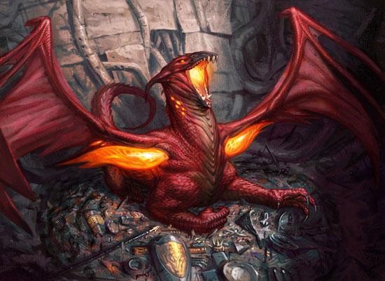 Hoard Smelter Dragon Drawing Illustration Inspiration