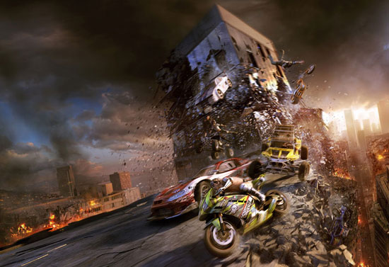MotorStorm Apocalypse E3 Poster Drawing Illustration Inspiration