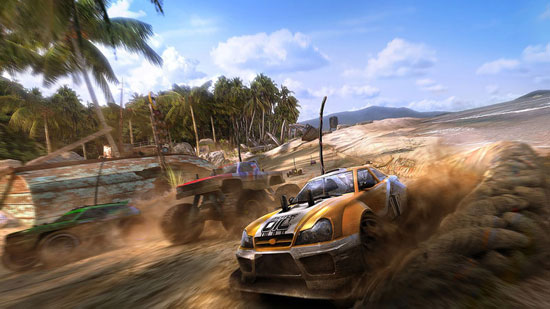 MotorStorm RC Promotional art Drawing Illustration Inspiration