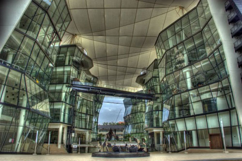 Modern Architecture City massive and modern architecture of huge cities - 56 photos